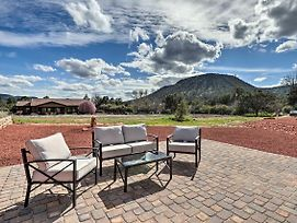 Red Rock Country Home With Patio And Mountain Views! photos Exterior