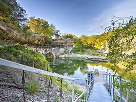 Waterfront Retreat With Dock Access On Lake Whitney! photos Exterior