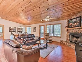 New-Pinetop Home W/Grill & Porch - 2Mi To Golf! photos Exterior