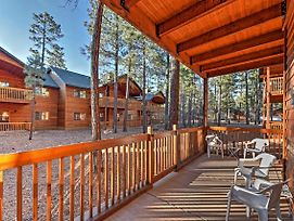 High-Country Living: Pinetop Townhome W/Porch photos Exterior