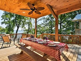 Lakefront Rutledge Cabin W/Fire Pit & Private Dock photos Exterior