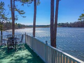 Harrod'S Hideaway W/Deck+Dock On Lake Norrell photos Exterior
