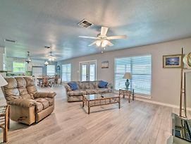 Updated Lakefront Home With Dock, Deck, And Views! photos Exterior