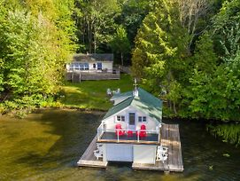 Fly By Rosseau~Sunset View Cottage, Boathouse + Bunkies On Lake Rosseau photos Exterior