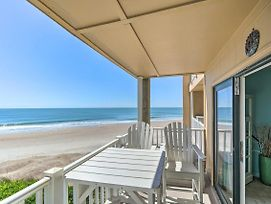 Breezy Oceanfront Condo With Lanai, Steps To Beach! photos Exterior