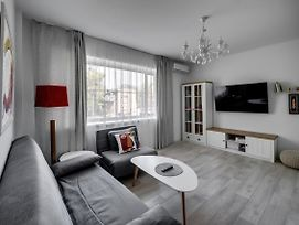 White Apartment Scandinavian Style photos Exterior