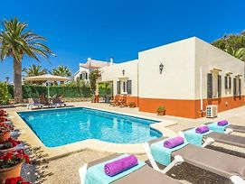 Cala Blanca Villa Sleeps 6 Pool Air Con Wifi photos Exterior