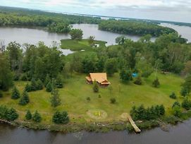 Cabin W/ Private Island Less Than 6 Mi To Sand Valley! photos Exterior