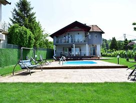 Private Lux Vila Mila With Swimming Pool By The Danube,Sleep 15 photos Exterior