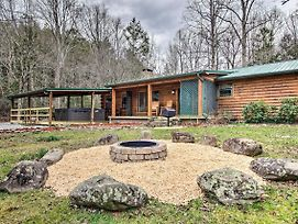 Creekside Cabin W/ Spa, Fire Pit & Game Room! photos Exterior