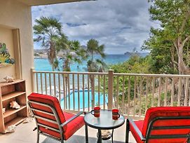 Saint Thomas Condo W/ Ocean Views, Walk To Beach! photos Exterior