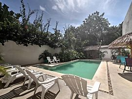 Luxe Tulum Villa W/ Pool Access & Furnished Patio! photos Exterior