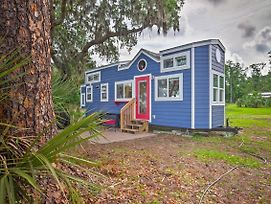Waterfront Tiny House W/ Private Dock & Golf Cart! photos Exterior