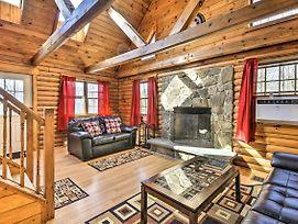 Log Cabin W/ Deck & Pool Access - By Summer Camps! photos Exterior