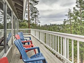 Home W/Deck + Stunning View Less Than 8Mi To Lk Tahoe photos Exterior