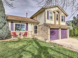 Colo Springs Home, 5 Mins To Cheyenne Mtn & Dt! photos Exterior