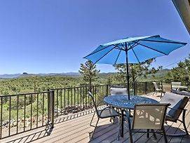 Prescott Hideaway W/ Deck & Mountain Views! photos Exterior