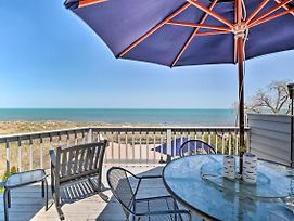 New! Lakefront Family Retreat - Steps To Beach! photos Exterior
