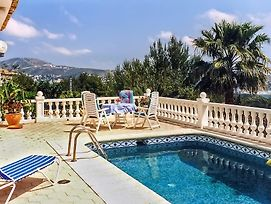 Villa With 3 Bedrooms In Moraira Benissa With Wonderful Sea View Private Pool Enclosed Garden 3 Km From The Beach photos Exterior