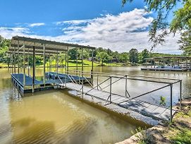 Lakefront Hot Springs Home With Updated Deck And Dock! photos Exterior