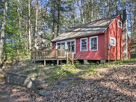 New! Cozy Northwood Lake Cabin On Secluded Beach! photos Exterior