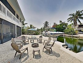 Quick Ocean Access! Canal-Front Dream W/ Dock Home photos Exterior