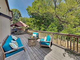 Elegant Creek-Side Home W/ Deck & Private Hot Tub Home photos Exterior