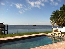 Large Luxury Gulf Front House With Private Dock On Water Home photos Exterior