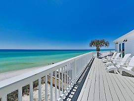 New Listing! The Beach House - Gulf-Front Haven Home photos Exterior