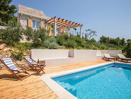 Private Villa Brac With Pool In Bol photos Exterior