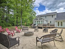 Charming 3Br Center Ossipee Home W/Fire Pit! photos Exterior