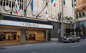 The Donatello Hotel in San Francisco