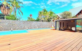 Villa Les Eaux Blanches With Swimming Pool For 15 People In Boucan Canot photos Exterior