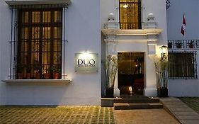 Duo Hotel Boutique Lima