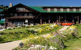 Lodge at Glacier National Park