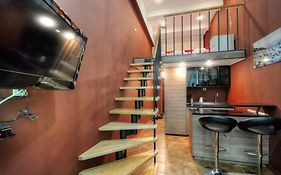 Two Storey Apartment In Loft Style
