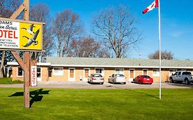 Adams Golden Acres Motel Kingsville On