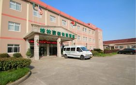 Greentree Inn Shanghai Pudong Disney Resort Airport Town Express Hotel Jichangzhen