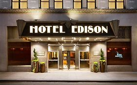 Hotel Edison in New York City