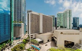 The Hyatt Regency Miami
