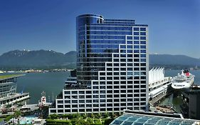 The Fairmont Waterfront Hotel Vancouver bc Canada