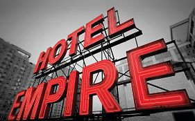 Empire Hotel in New York City