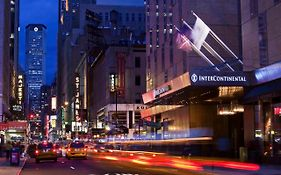 Intercontinental Hotel Times Square New York