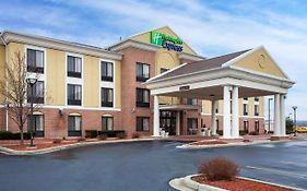 Holiday Inn Express in Martinsville Indiana
