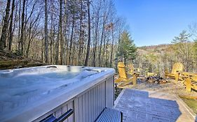 Deer Park Cabin! Blue Ridge Home With Hot Tub & Views