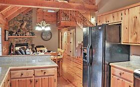 Authentic Creekside Log Cabin With Decks In Ellijay!