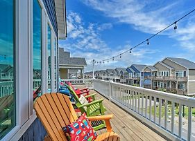 Charming Surf City House W/Elevator, Walk To Beach photos Exterior