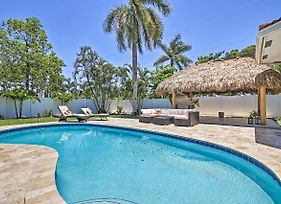 Quiet Tropical Oasis With Pool - 1 Mile To Beach! photos Exterior