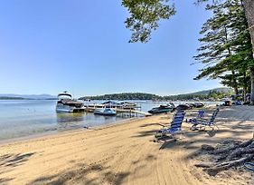 Lake Winnipesaukee Getaway With Private Beach! photos Exterior