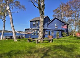 Oceanfront Atlantic Blue Cottage In Harpswell! photos Exterior